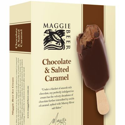 Maggie Beer Icecream Sticks Choc Salted Caramel 300ml