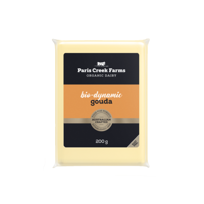 Paris Creek Farms Bio-Dynamic Gouda 200g (WA)