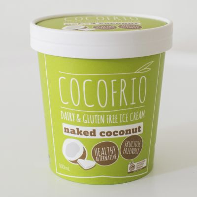 Cocofrio Non Dairy Icecream Naked Coconut 500ml