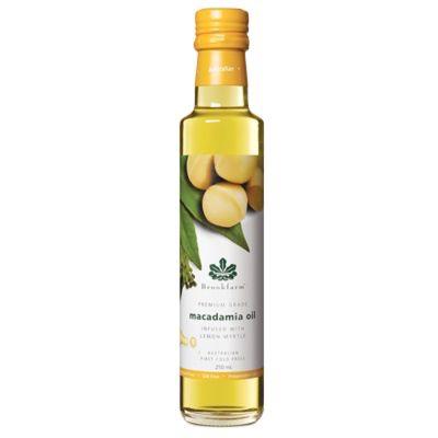 Brookfarm Macadamia Oil Lemon Myrtle 250ml