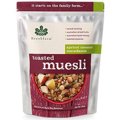 Brookfarm Toasted Muesli with Apricot 1.5kg