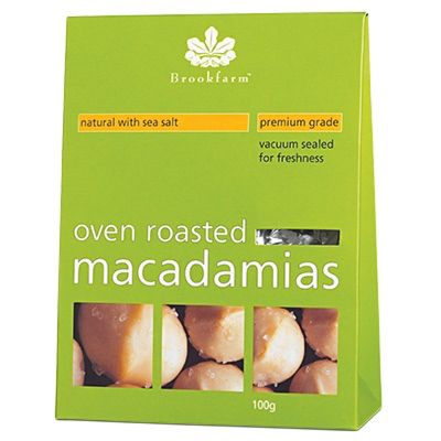 Brookfarm Macadamias Sea Salt 100g