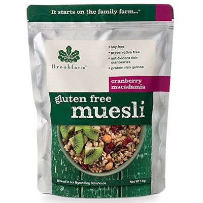 Brookfarm Gluten Free Muesli with Cranberry 1kg