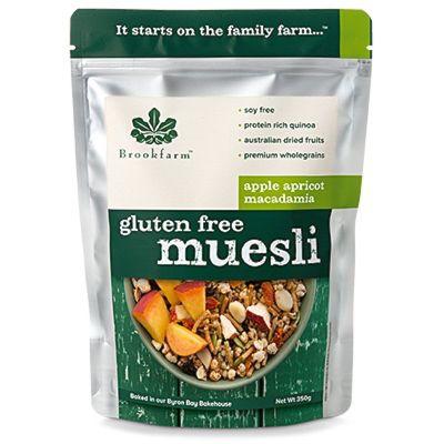 Brookfarm Gluten Free Muesli with Apricot 350g