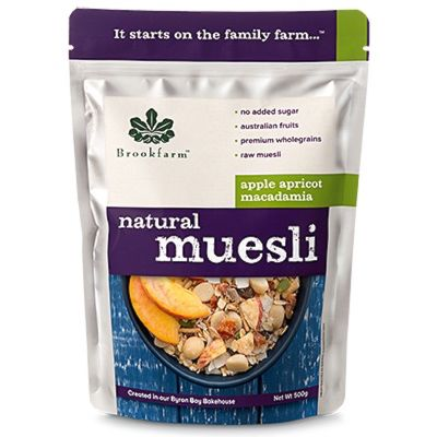 Brookfarm Natural Muesli with Apricot 500g