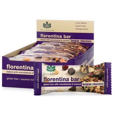 Brookfarm Florentina Bar Display Box 35g (WA)