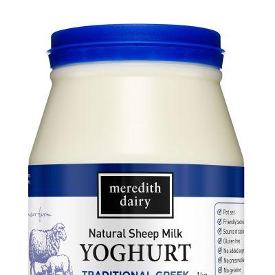 Meredith Yoghurt Blue Ewes Milk 1kg
