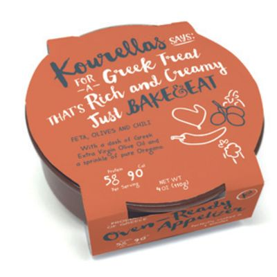 Kourellas 110g Bake & Eat Olive & Chilli