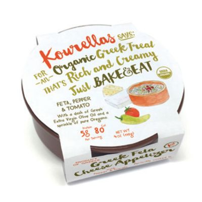 Kourellas 110g Bake & Eat Organic