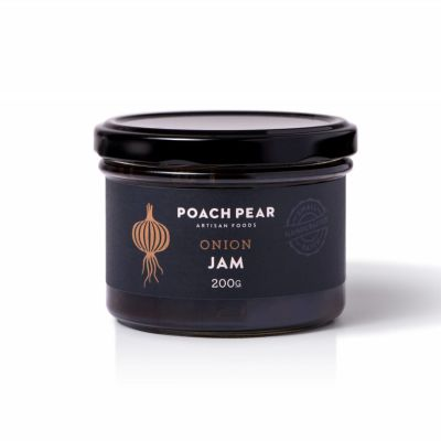 Poach Pear Onion Jam 250g
