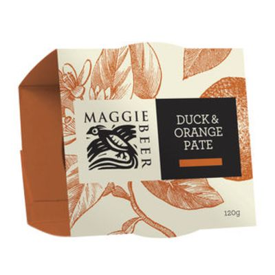 Maggie Beer Duck Orange Pate 120g (WA & QLD)