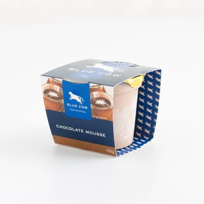 Blue Cow Chocolate Mousse 120g (WA & QLD)