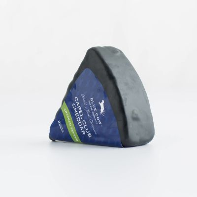 Blue Cow Cracked Pepper Capel Club Cheddar 200g (WA & QLD)