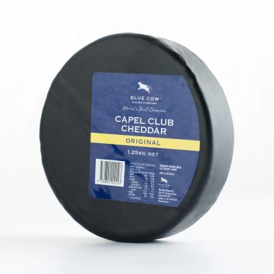 Blue Cow Capel Club Cheddar 1.25kg (WA & QLD)