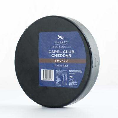Blue Cow Smoked Capel Club Cheddar 1.25kg (WA & QLD)