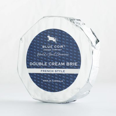 Blue Cow French Style Double Cream Brie 1kg (WA & QLD)