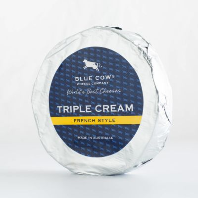 Blue Cow Triple Cream Brie 1kg RW (WA & QLD)