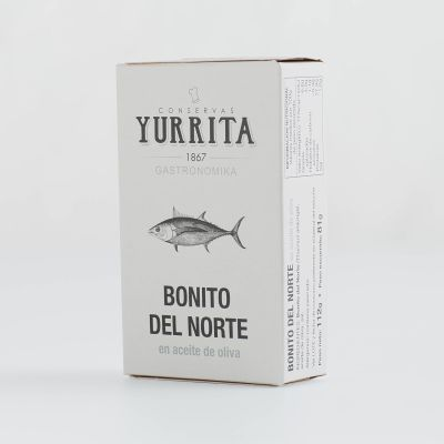 Yurrita White Tuna in Olive Oil 122g