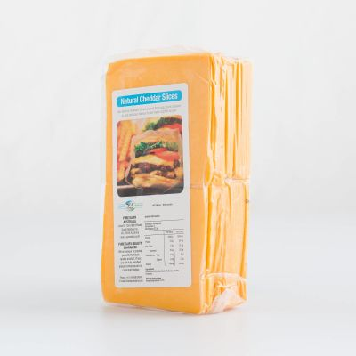 Pure Dairy Natural Cheddar Slices 900g