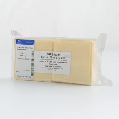 Pure Dairy Swiss Cheese Slices 680g