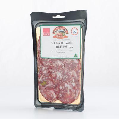 Montecatini Sopressa with Olive 100g