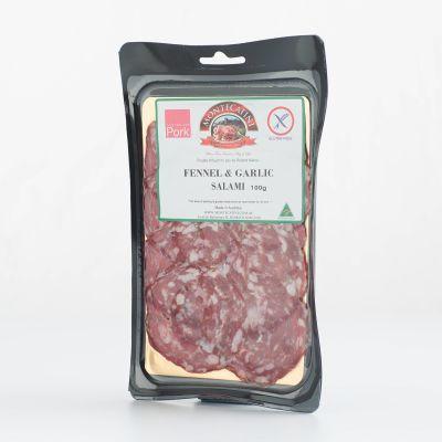 Montecatini Fennel & Garlic Salami 100g