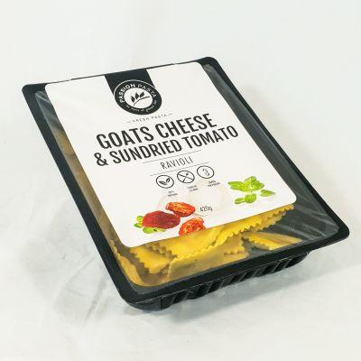 Passion Pasta Ravioli Goat Cheese & Sundried Tomato 420g (WA)