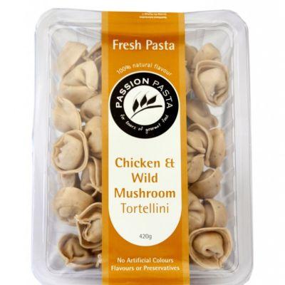 Passion Pasta Tortellini Chicken & Wild Mushroom 420g