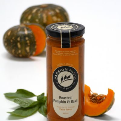 Passion Pasta Sauce Roasted Pumpkin & Basil 465ml (WA)