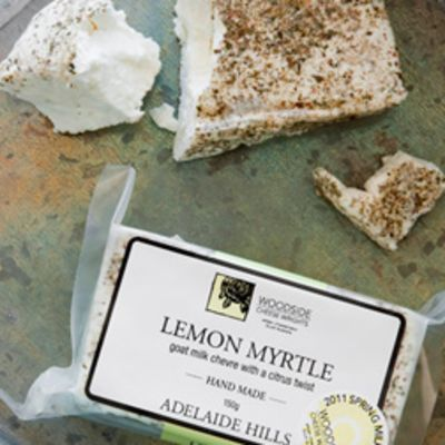Woodside Chevre Lemon Myrtle 150g