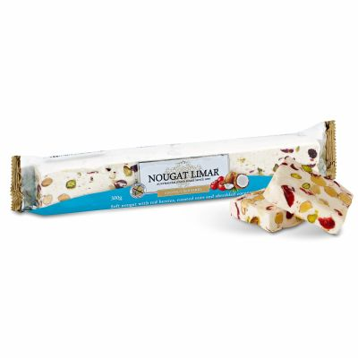 Nougat Limar Red Berry Coconut 300g