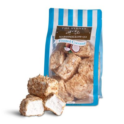 Sydney Marshmallow Co Toasted Coconut 200g