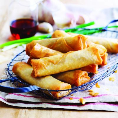 DimSum&Co 8x300g Spring Roll Homestyle Chicken
