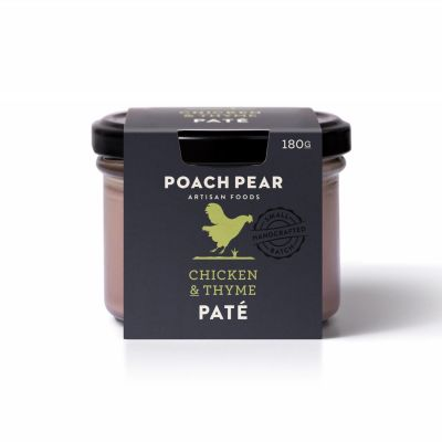 Poach Pear Pate Chicken & Thyme 180g