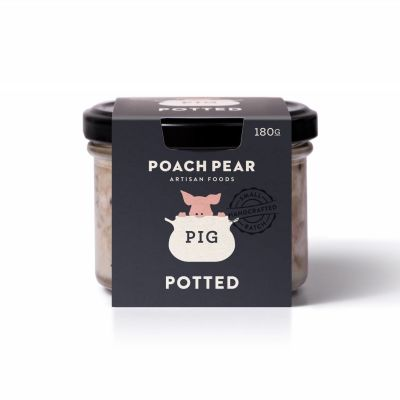 Poach Pear Potted Pig 180g