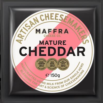 Maffra Mature Cheddar 150g