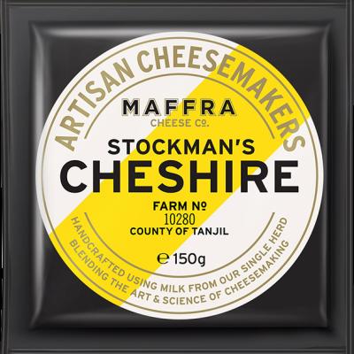 Maffra Stockman's Cheshire 150g