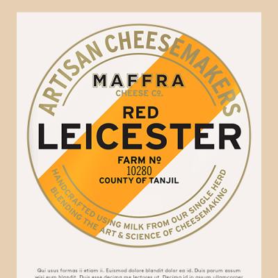 Maffra Pyramid Red Leicester 2kg RW