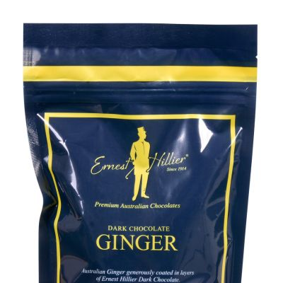 Ernest Hillier Dark Chocolate Ginger 240g