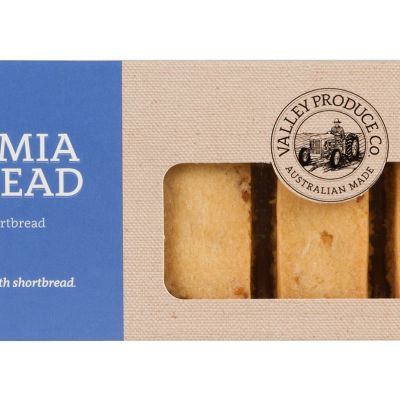 Valley Produce Shortbread Macadamia 175g