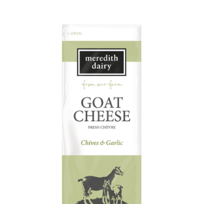 Meredith Goats Cheese Fresh Chives & Garlic 80g