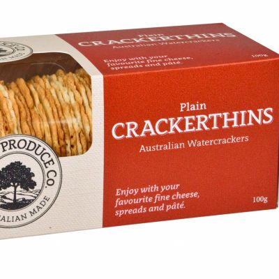 Valley Produce Crackerthins Plain 100g