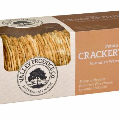 Valley Produce Crackerthins Potato 100g