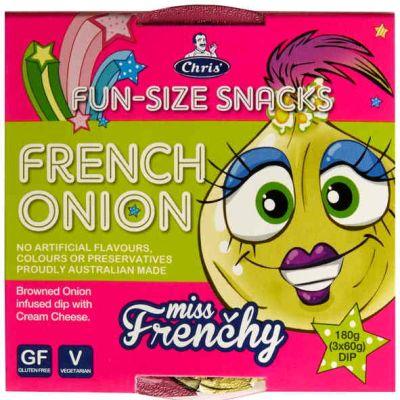 Chris' Funsize-Snacks French Onion Dip 180g