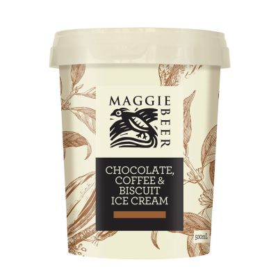 Maggie Beer Icecream  Chocolate, Coffee & Biscuit 500ml