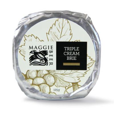 Maggie Beer Triple Cream Brie 125g
