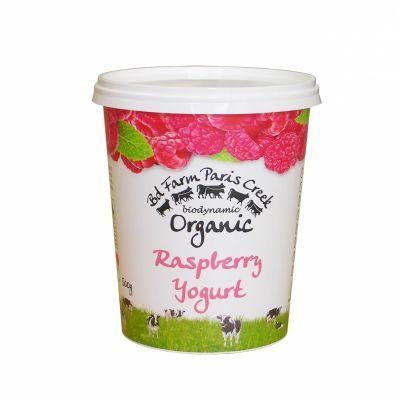 B-d Farm Yoghurt Raspberry 500g