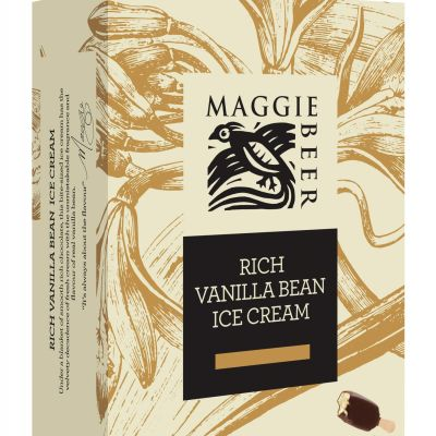 Maggie Beer Icecream Sticks Rich Vanilla Bean 300ml