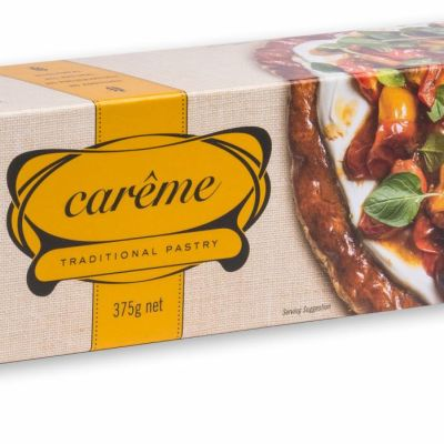 Carême Spelt Wholemeal Butter Puff Pastry 375g