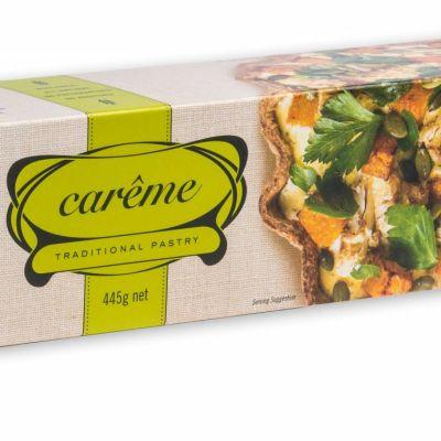 Carême Spelt Wholemeal Shortcrust Pastry 445g